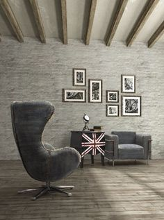 Modern Industrial Loft Design modern living room