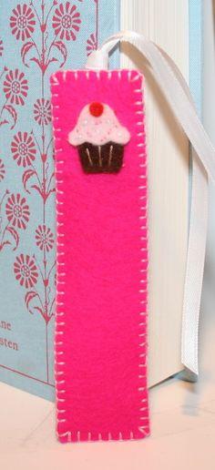 #favors, bookmarks felt, so adorable!