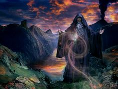 merlin the wizard | Merlin-Wizard (13) Merlin also had his beginning in Celtic mythology as the Wild Man of the Woods.