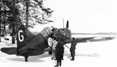 Finnish Air Force Brewster F2A Buffalo- An American fighter that proved far more deadly in the hands of the Axis than the Allies.