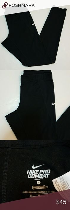 Nike Pro Combat dri-fit leggings size M Excellent condition Nike Pants Leggings