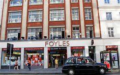 Foyles bookshop, Charing Cross