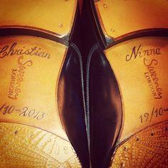 tattooed shoe soles