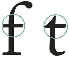 Travesaño o cruz: trazo horizontal que atraviesa el asta principal.