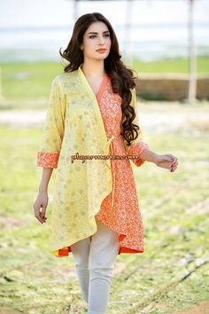 for this Tailer fit designer wear Pakistani Fashion Casual, Pakistani Dresses Casual, Pakistani Dress Design, Indian Dresses, Indian Fashion, Stylish Dresses, Simple Dresses, Casual Dresses, Girls Dresses