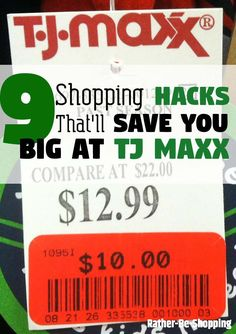 Here are some easy ways to save money at TJ Maxx that only employees and consumer insiders are privy to. Now you can finally take it to the maxx. Best Money Saving Tips, Money Tips, Saving Money, Save Your Money, Ways To Save Money, How To Make Money, Logo Simple, Simple Way, The Maxx