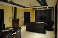 Children 39 s bedroom wardrobe dressing unit study table residential interior designs mr for Chennai interior design living room