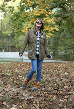 Camping Outfit, What to Wear Camping, Fall Outfit, Patch Jacket, How to Wear Patches Camping Outfits, Camping Fashion, Faux Shearling Jacket, Dog Shirt, Camping Hacks, Everyday Look, Winter Outfits, Winter Clothes, What I Wore