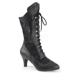 http://www.lenceriamericana.com/calzado-sexy-de-plataforma/39275-botas-de-mujer-de-talla-40-a-48-acordonadas-hechas-en-polipiel-y-encaje.html
