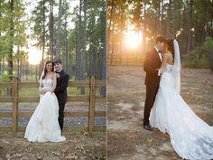 sunset wedding photo - Beautiful and Rustic Alabama wedding at the Douglas Manor | Stefani Marie Photography - http://emmalinebride.com/real-weddings/rustic-douglas-manor-wedding/