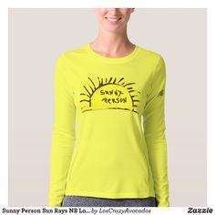 Sunny Person Sun Rays NB Long Sleeve Shirt