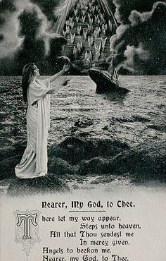 Old Titanic postcards – 2  #Titanic