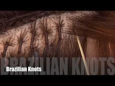 How To: Brazilian Knots Hair Extensions - YouTube