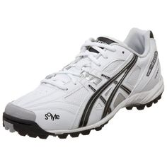 ASICS Men's GEL-V Cut Turf Field Shoe,White/Black/Silver,10 D US ** Additional info @ http://www.lizloveshoes.com/store/2016/06/08/asics-mens-gel-v-cut-turf-field-shoewhiteblacksilver10-d-us/?ij=020716220128