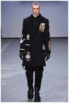 KTZ Fall/Winter 2015 Inspired by 'A Clockwork Orange' | London Collections: Men
