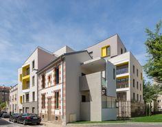 Nouvel'R - Montreuil (93) © Ecliptique / Laurent Thion Laurent, Multi Story Building, Mansions, House Styles, Home Decor, Ile De France, Decoration Home, Manor Houses, Room Decor