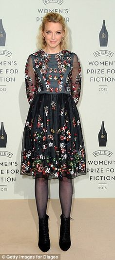 Print fans: Jameela Jamil went for a fun polka dot number while Lauren Laverne was in full bloom in her pretty floral dress Preppy Dresses, Fall Dresses, Dresses For Work, Dresses With Sleeves, Summer Dresses, Lauren Laverne, Bridesmaid Dresses, Prom Dresses, Diy Dress