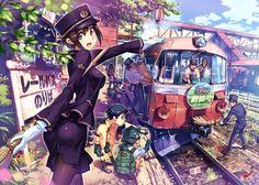 Vania600 y su manía ferroviaria