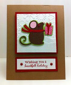 cricut winter frolic ideas | ... and easy Christmas Card using Cricut Winter Frolics Shapes Cartridge