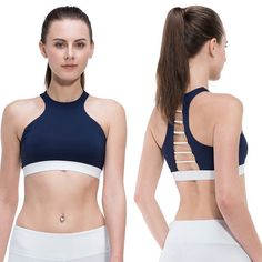 Cropped Yoga Bra - Athletic Top