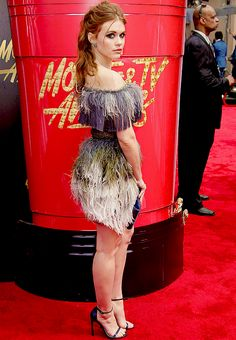 Holland Roden attends the 2017 MTV Movie And TV Awards at The Shrine Auditorium on May 7, 2017