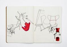 Patrick Norguet presents the lounge chair for Cassina, 150 St John Street, / London Design Festival 2013