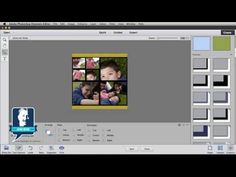 ▶ Create a Photo Collage in Photoshop Elements - YouTube