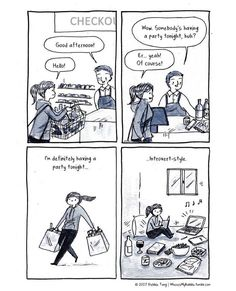 A party: introvert style!