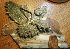 Slab: Translucent Jasper Agate Stump: Petrified Wood   Robert Dennis Wilson
