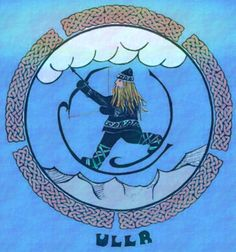 Norse Mythology: ULLR, is a rather mysterious god, known for his beauty and skill with bow and skis; son of Sif and stepson of Thor. He is supposed to be the god of snow and skiing... but is he? Please read this interesting article: http://14erskiers.com/blog/2009/11/ullr-really-the-god-of-snow/