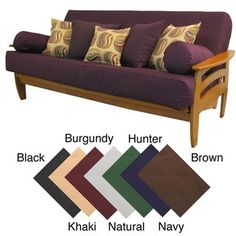 @Overstock - Protect your futon with this removable full-size futon cover, which comes in a variety of colors to match your room. The heavy-duty cover is machine-washable, making cleanup a snap, and it protects your futon from dirt, grime, and small bugs.http://www.overstock.com/Home-Garden/Premium-Full-size-Upholstery-Grade-Twill-Futon-Cover/4393572/product.html?CID=214117 $25.19