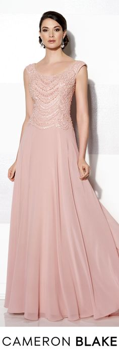 Cameron Blake Fall 2015 - Style No. 215632 cameronblake.com #motherofthebridedresses #eveninggowns