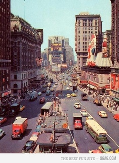 1950s Time Square