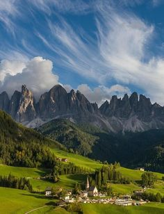 The Dolomites: mountain range in northern Italy. Where Carrara marble comes from. Really a beautiful region.
