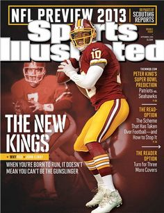 Another week, another #RG3 magazine cover. (Sports Illustrated, dated Sept. 2, 2013) #SicEm // Robert Griffin III, #Baylor University Class of 2010 #RGIII