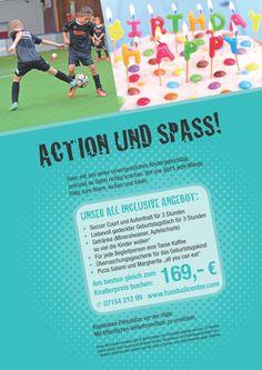 Kindergeburtstage - Fussballcenter Kornwestheim