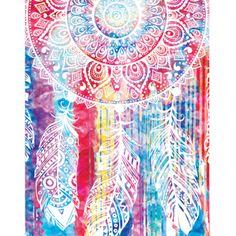 Watercolor Dreamcatcher Spiritual Poster