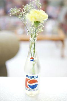 Pepsi Bottles <3   #Wedding
