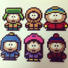South Park characters perler beads by chory_warp