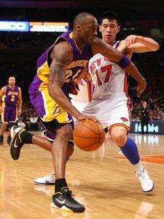 February 10, 2012 - Lakers vs NY Knicks - Kobe vs Lin - Legend vs Upcoming Legend?