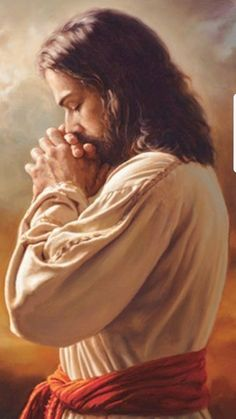 Thoughtful in Prayer. Pictures Of Jesus Christ, Jesus Christ Images, Jesus Art, Jesus Our Savior, God Jesus, Christian Images, Christian Art, Bibel Journal, Religion