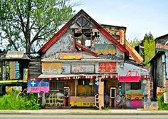 Detroit's Heidelberg Project: Founder Tyree Guyton uses everyday, discarded objects to turn rundown buildings into works of art.  But there's more to the Heidelberg Project than simply brightening up one of the city's many blighted neighbourhoods.  It's about educating people – especially children – about art and community, and transforming lives through the power of creativity.
