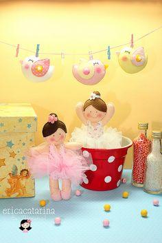 Bailarinas para Sandra by Ei menina! - Erica Catarina, via Flickr