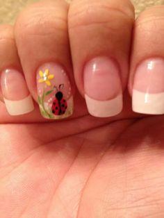 Lady Bug_Nail Art