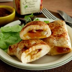 Chicken with Mango Chutney and Brie