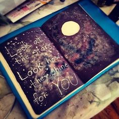 wreck this journal - coldplay