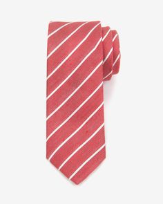 Striped tie - Ted Baker UK. I need more red ties.