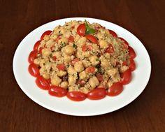 Grão de Bico com Quinoa