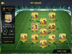My new fifa 15 ultimate team