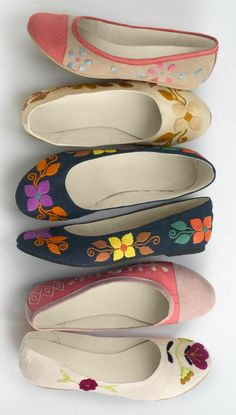 Fair Indigo is an online retailer that sells clothes and accessories that are certified by Fair Trade U.S.A., including $100 floral ballet flats.